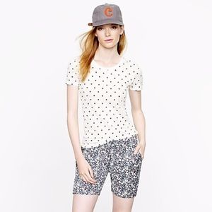 J. Crew dotted Tee